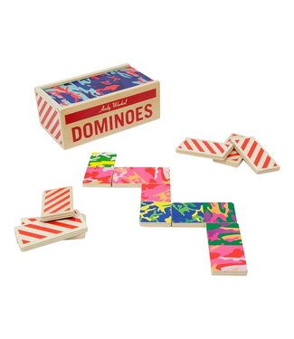 ANDY WARHOL WOODEN DOMINO SET
