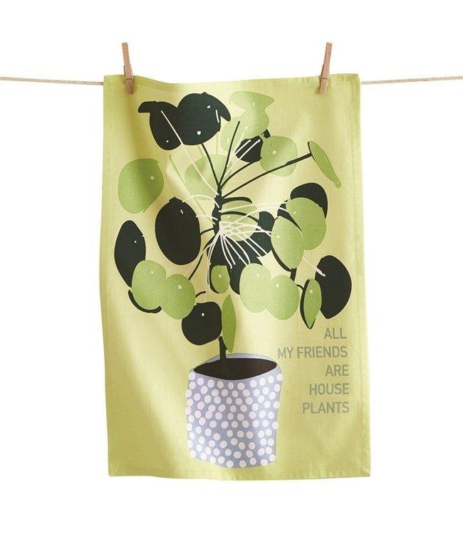 PLANTS DISH TOWEL