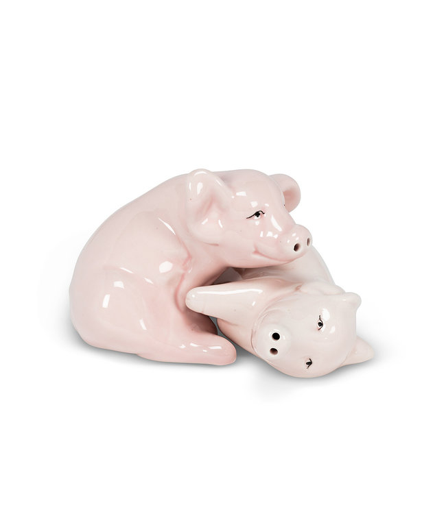 PIG SALT & PEPPER SHAKER SET