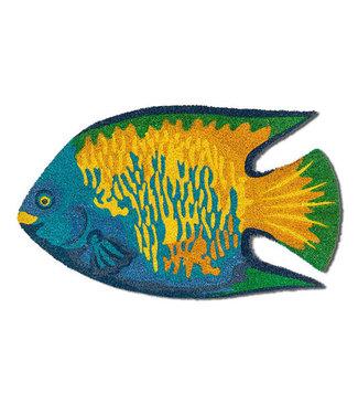 TROPICAL FISH DOOR MAT