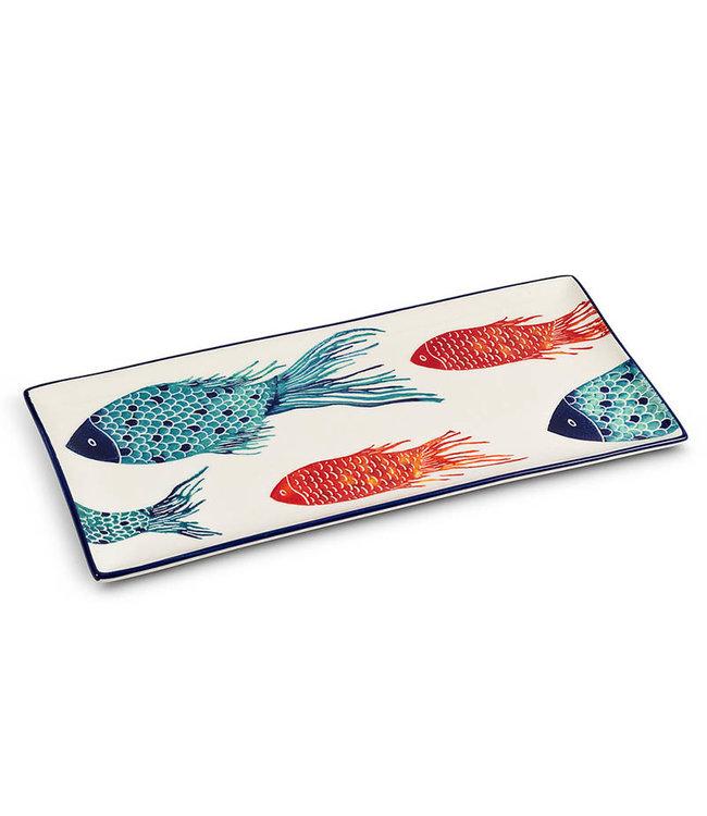 FISH RECTANGULAR PLATTER