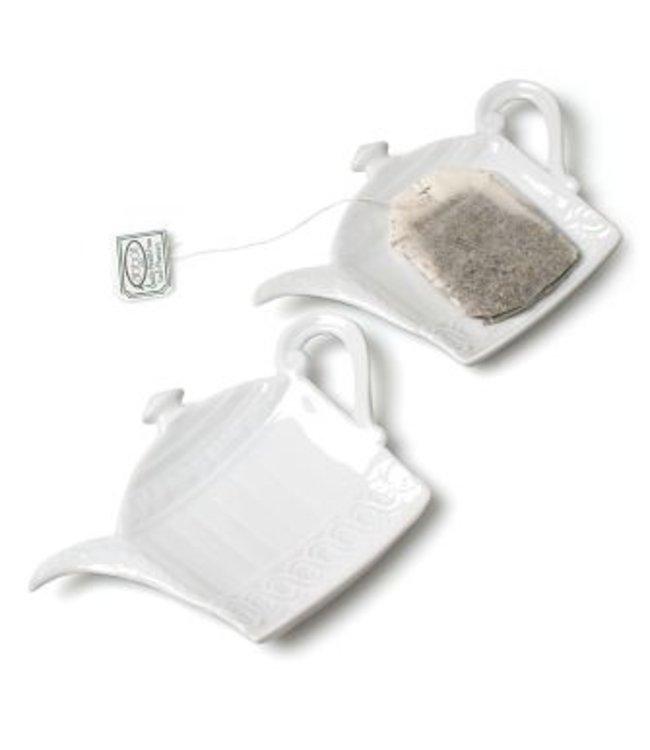TEAPOT TEA BAG DISH