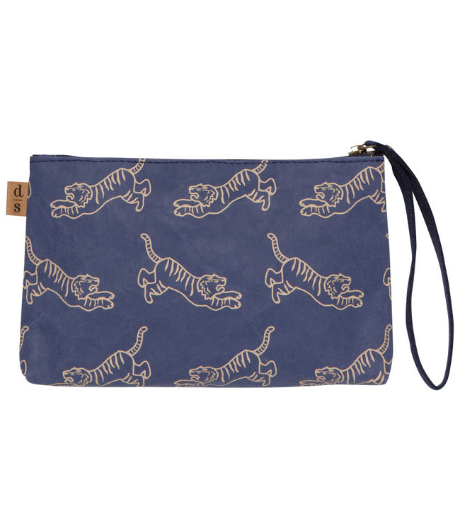 PAPERCRAFT POUCH BAG WITH HANDLE