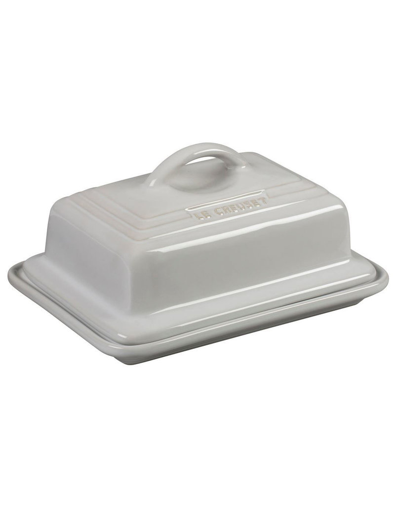 Le Creuset Heritage Butter Dish White