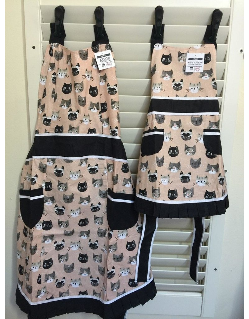 Now Designs Apron Child Cats Meow