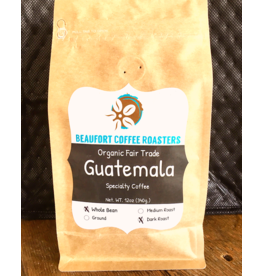 Beaufort Coffee Guatamala, Dark Roast, Whole Bean 12oz