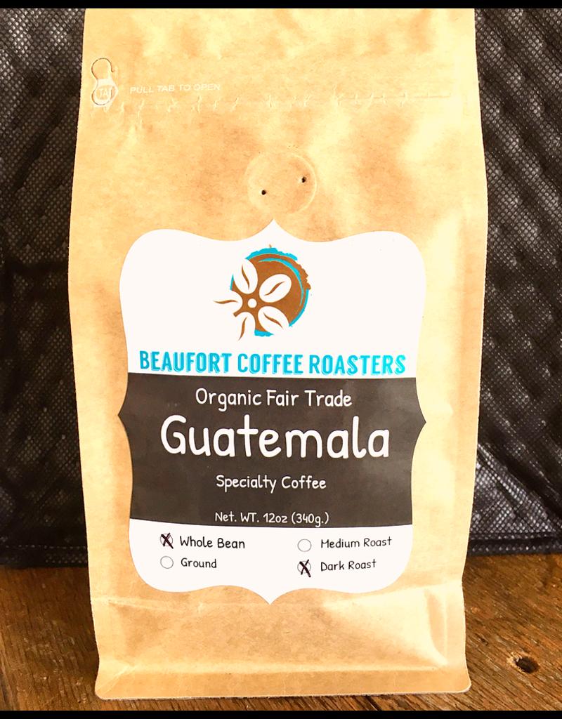 Beaufort Coffee Guatamala, Dark Roast, Whole Bean 12oz