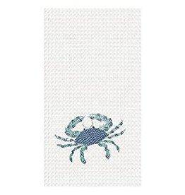 C and F Home Towel Crab, waffle weave