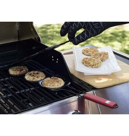 Charcoal Companion Crab Cake Grilling Basket DISC