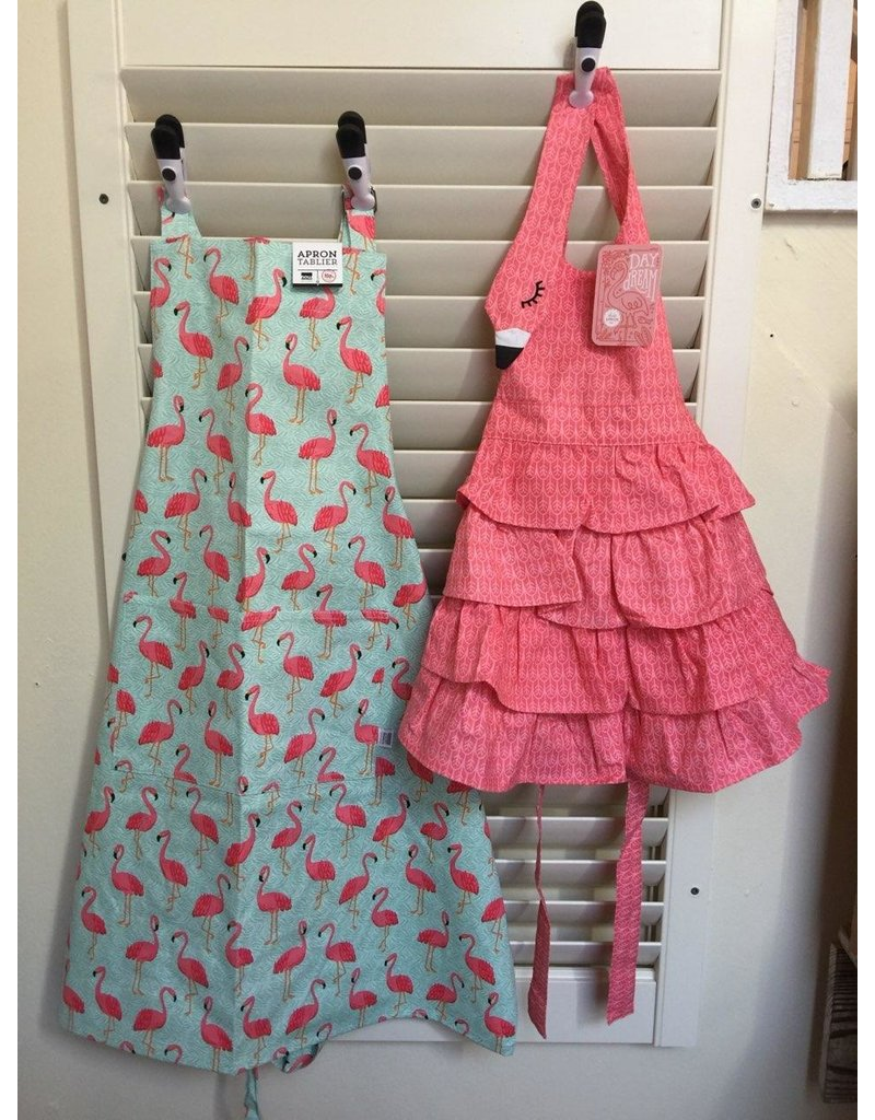 Now Designs Apron Child Flamingo