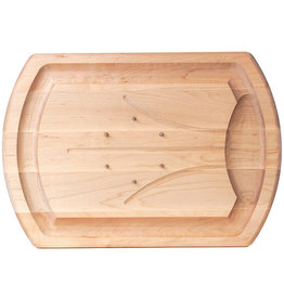 JK Adams Maple Carving Board with Spikes