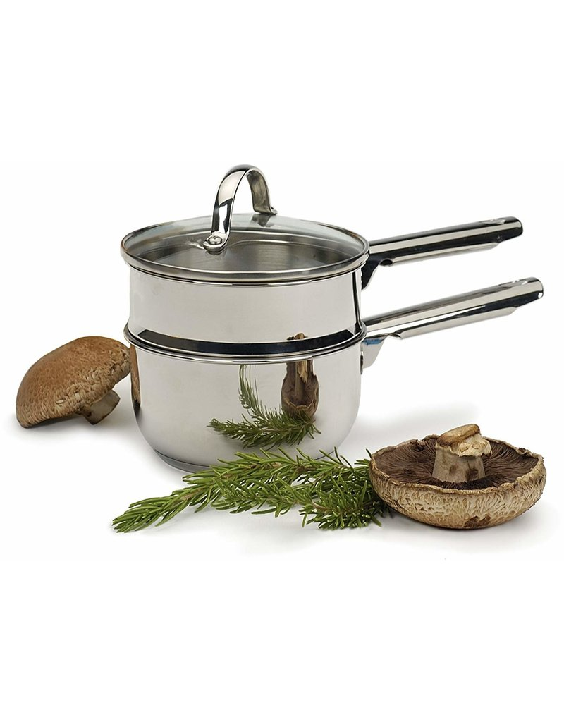 RSVP Endurance Stainless Double Boiler 1qt - induction DISC