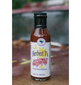 Herbert T's BBQ Sauce 12oz, Locally-Made in Beaufort SC