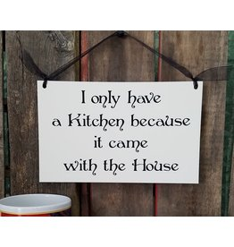 Sign Kitchen House