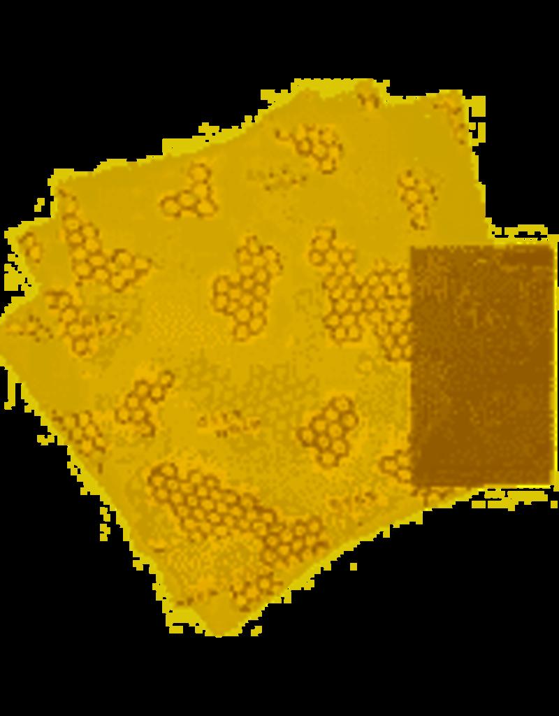 Bee's Wrap Reusable Bee's Food Wrap, LUNCH Pack (1 Sandwich, 2 Medium) cir