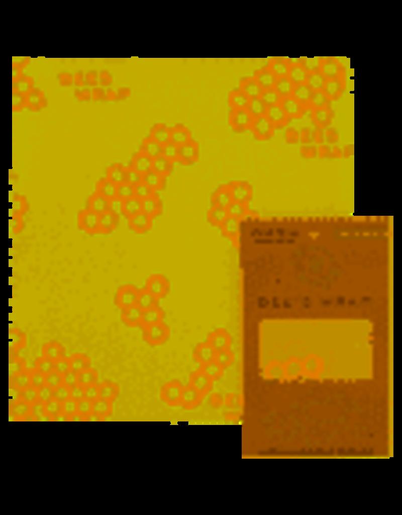 "Bee's Wrap Reusable Bee's Food Wrap, Single MEDIUM 10""x11"" cir"