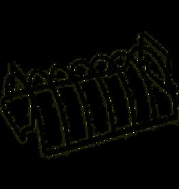 Charcoal Companion/Union Reversible Rib & Roasting Rack Nonstick