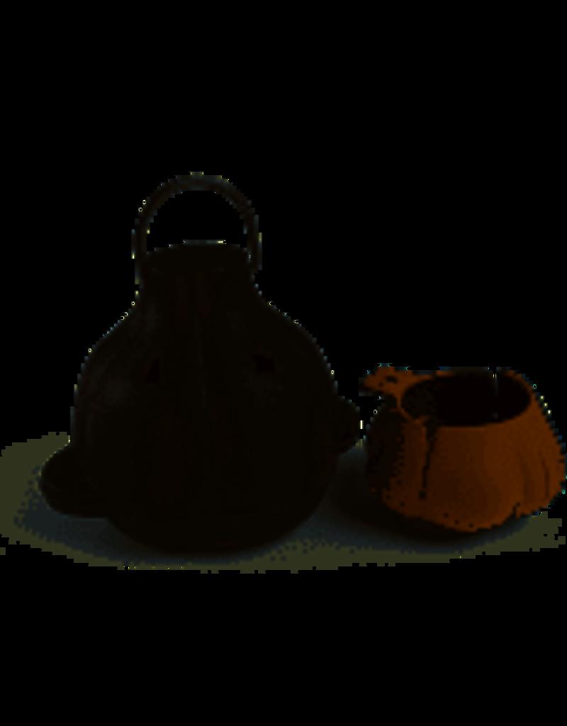 Charcoal Companion Cast Iron Garlic Roaster & Squeezer