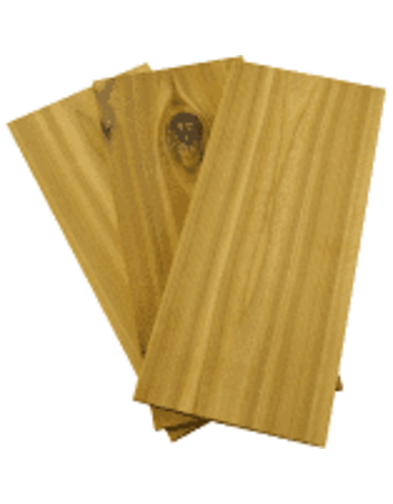Charcoal Companion Cedar Grilling Planks Set of 3