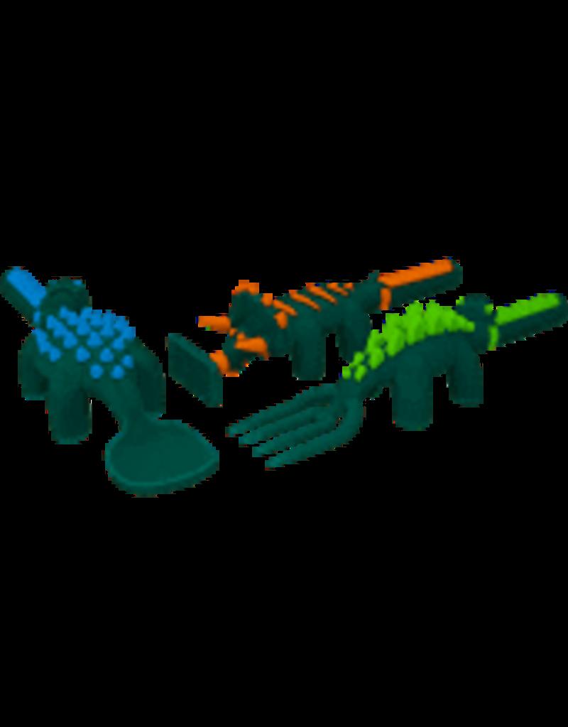 Constructive Eating Dinosaurs Utensils Set of 3