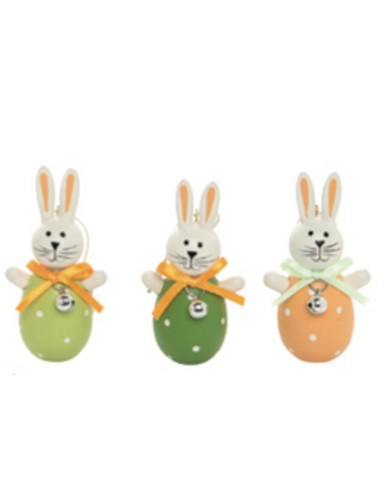 C and F Home Wooden Easter Bunny Figure
