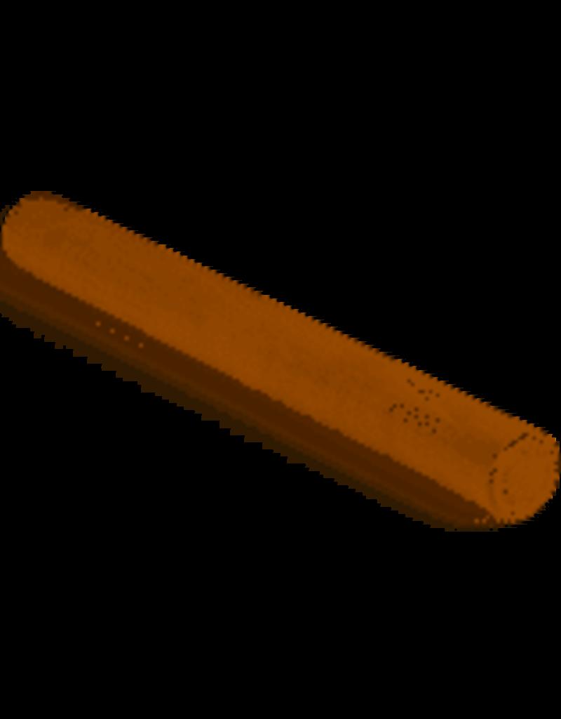 JK Adams Maple Wood Plain Dowel Rolling Pin, 19'' ciw