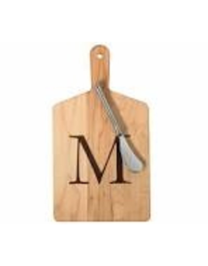 JK Adams Cheese Board Gift Set with Spreader - ''M''