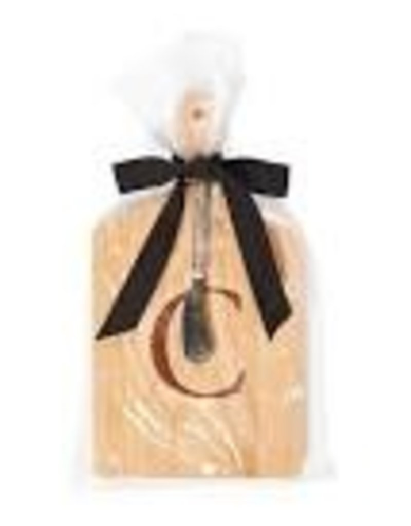 JK Adams Cheese Board Gift Set with Spreader - ''C''