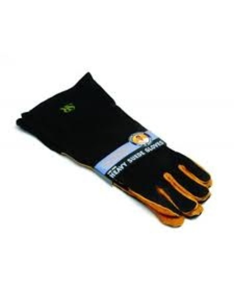Charcoal Companion Extra Long Suede Grill Gloves ciw