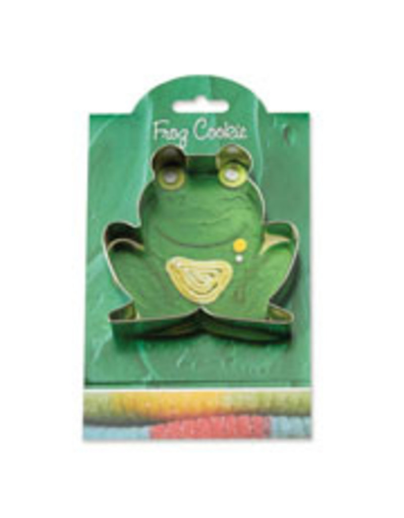 Ann Clark Cookie Cutter Frog with Recipe Card, MMC