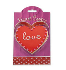Ann Clark Cookie Cutter Heart with Recipe Card, MMC