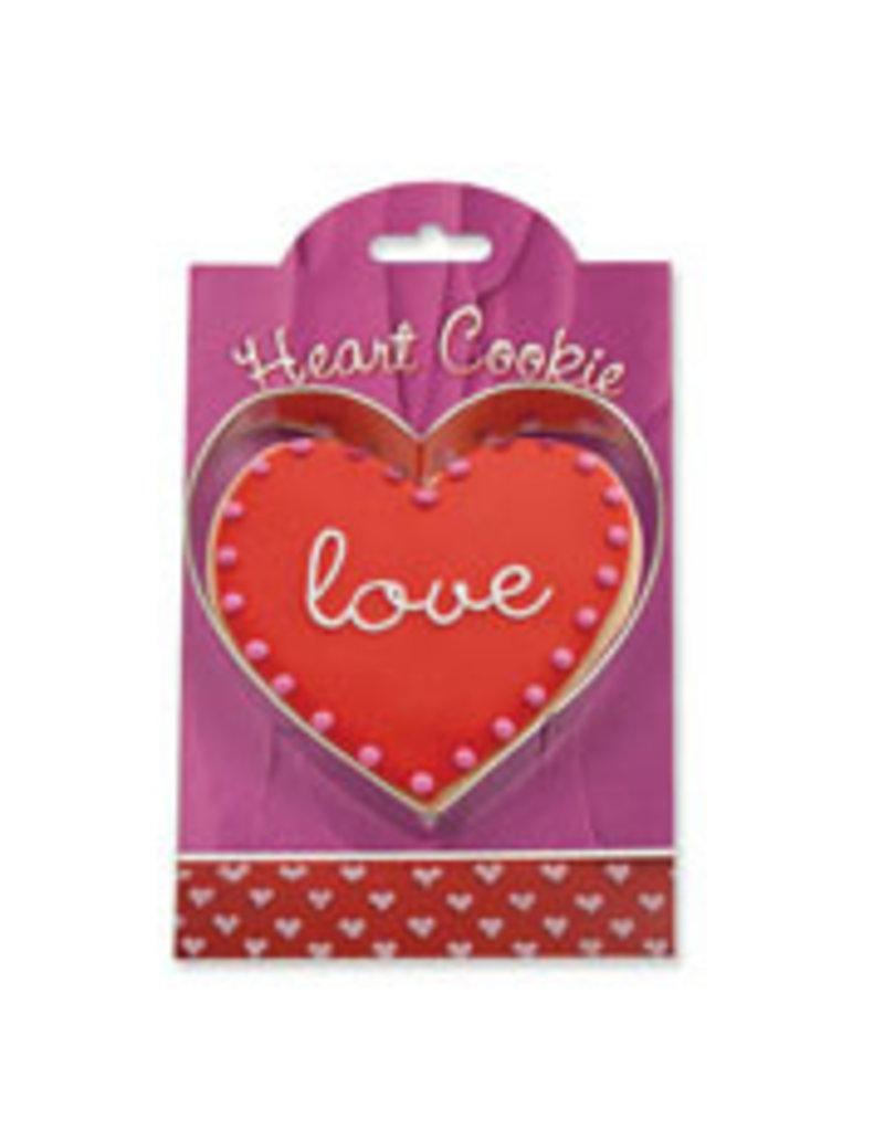 Ann Clark Cookie Cutter Heart with Recipe Card, MMC