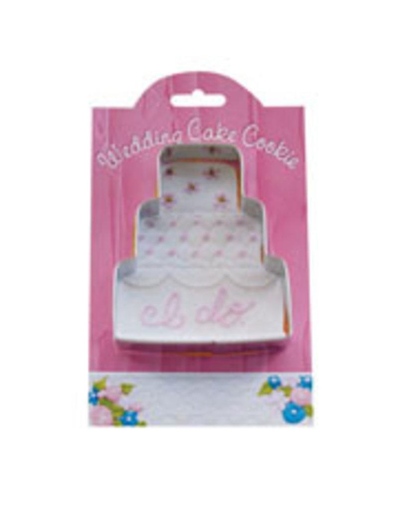 Ann Clark Cookie Cutter Wedding Cake with Recipe Card, MMC