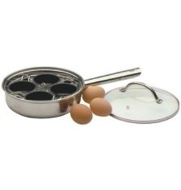 RSVP Endurance Stainless Steel 4-Egg Poacher