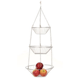RSVP Hanging Basket Chrome