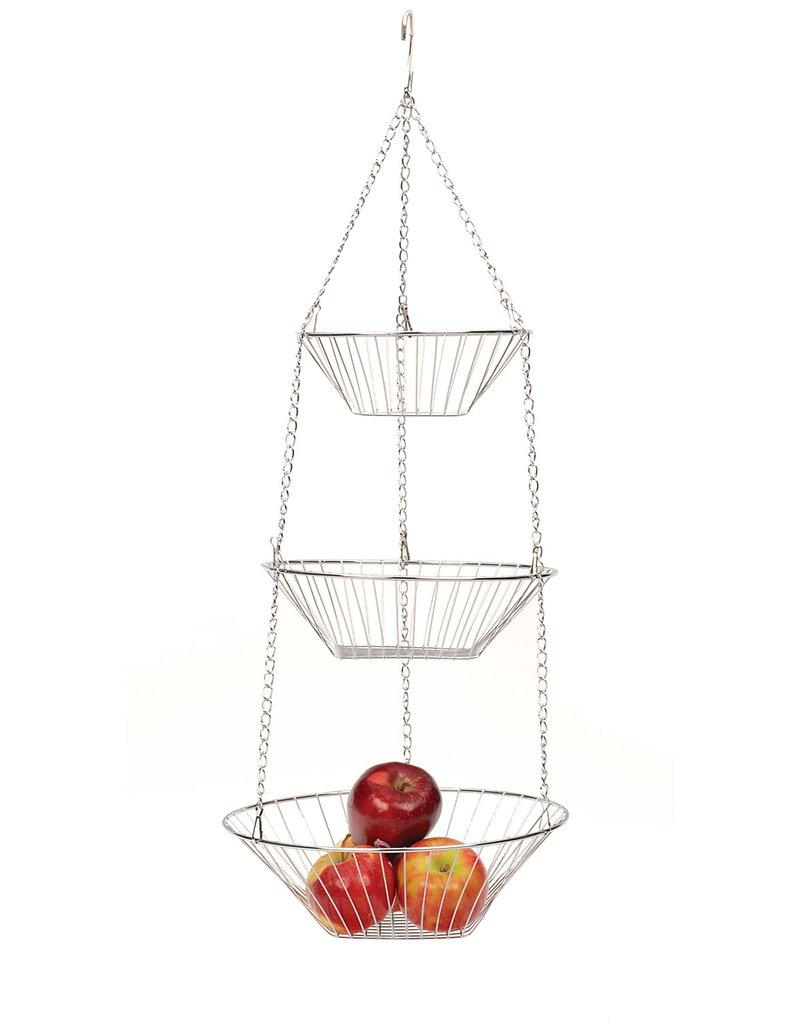 RSVP Hanging Basket Chrome
