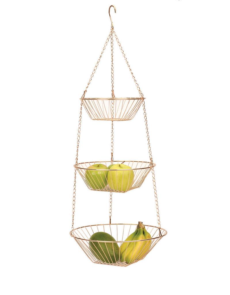 RSVP Hanging Basket Copper