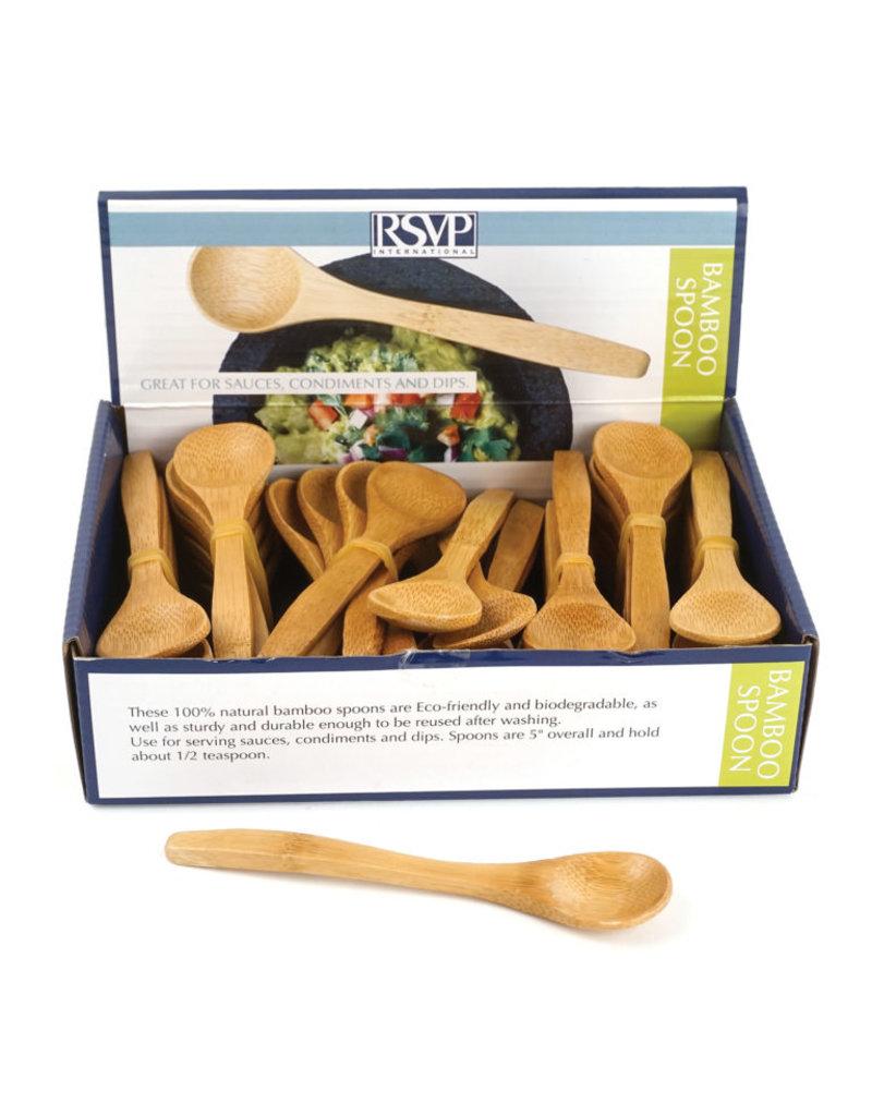 RSVP Bamboo Condiment Spoon/48