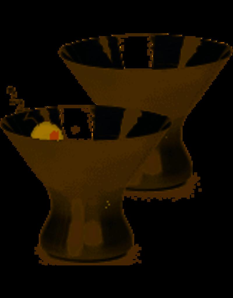 RSVP Endurance Stemless Martini Glass Stainless DISC