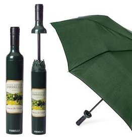 Vinrella Wine Bottle Umbrella - Estate Label-forest