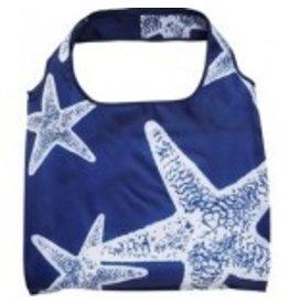 enVbags Reusable Bag with Zipper Pouch - Starfish disc