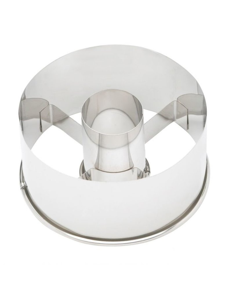 """Harold Imports Ateco 3.5"""" Stainless Donut Cutter"""