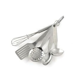 Norpro Stainless MINI KITCHEN TOOL ORNAMENT Set of 5