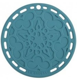 Le Creuset French Silicone Trivet - Caribbean 8''