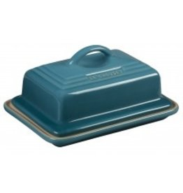 Le Creuset Heritage Butter Dish Caribbean