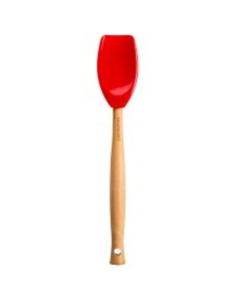 Le Creuset Craft Series Spatula Spoon Cerise Red