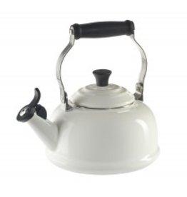 Le Creuset Whistling Tea Kettle 1.8oz - White