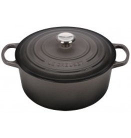 Le Creuset Enameled Cast Iron Signature Round Dutch Oven 7.25qt Oyster ciw