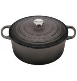 Le Creuset Enameled Cast Iron Signature Round Dutch Oven 7.25qt Oyster ciw