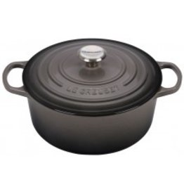 Le Creuset Enameled Cast Iron Signature Round Dutch Oven 5.5qt Oyster ciw